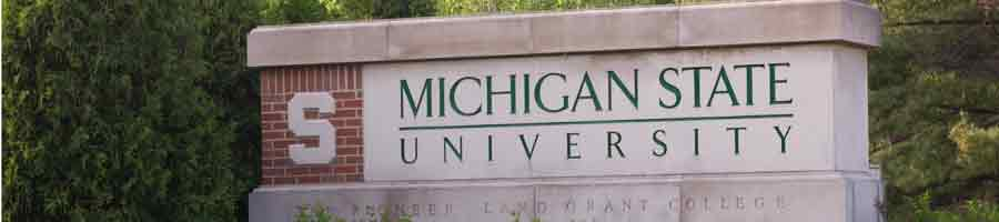 Photo of MSU Sign